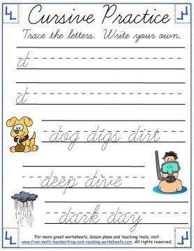 1000+ ideas about Cursive Handwriting Practice on Pinterest ...