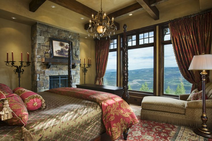Love the bedroom & the view!!
