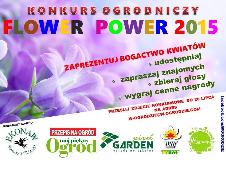 Konkurs ogrodniczy FLOWER POWER 2015