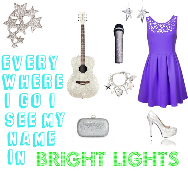 """""""Bright Lights"""" by jitter-bugg on Polyvore"""