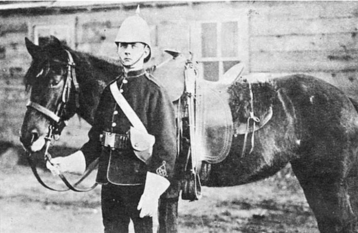 Canadian North West Mounted Police (NWMP - aka 'Mounties') Constable - 1880's