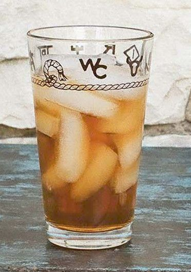 Rope and Brands 20 oz water/iced tea