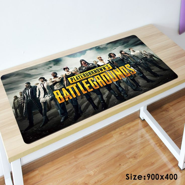 Sale US $14.72  900x400mm large popular PLAYERUNKNOWN'S BATTLEGROUNDS game mouse pad non-slip rubber precision lock computer table mat for gamer  #large #popular #PLAYERUNKNOWN'S #BATTLEGROUNDS #game #mouse #nonslip #rubber #precision #lock #computer #table #gamer  #Online