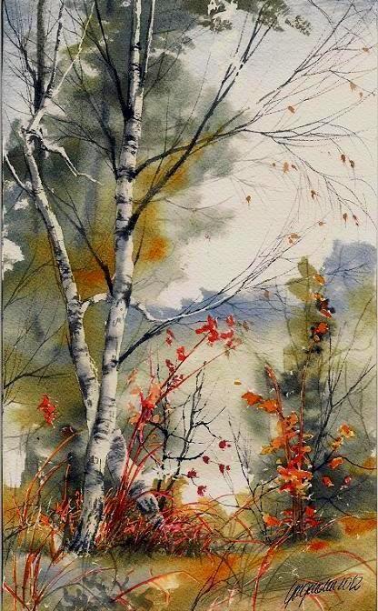 Beautiful watercolor - Beata Gugnacka: