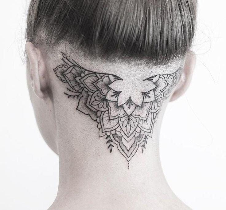 Эскизы татуировок на шею картинки