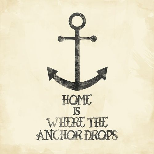 home is where the anchor drops ideas for sign projects pinterest s zuhause und anker. Black Bedroom Furniture Sets. Home Design Ideas