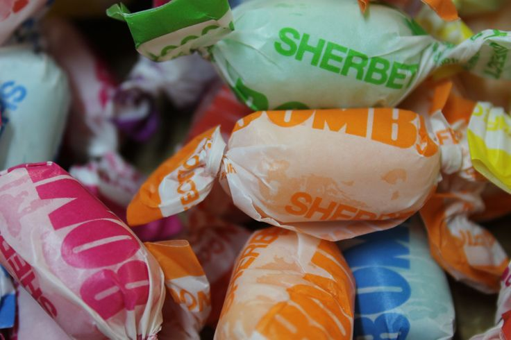 Sherbets #candy #Sweets #lollies https://www.facebook.com/TheTilbaSweetSpot