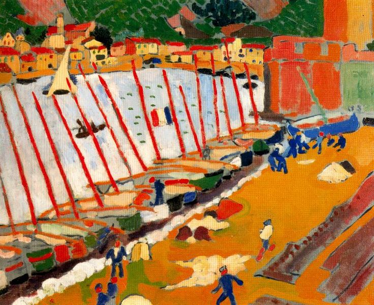 The Port of Collioure, 1905-Andre Derain