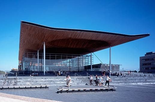 National Assembly for Wales · Projects · Rogers Stirk Harbour + Partners