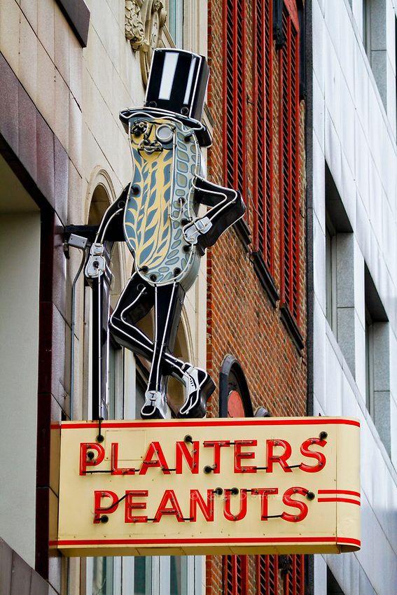 Did you know this was in Columbus? Ohio - Mr Peanut, Columbus