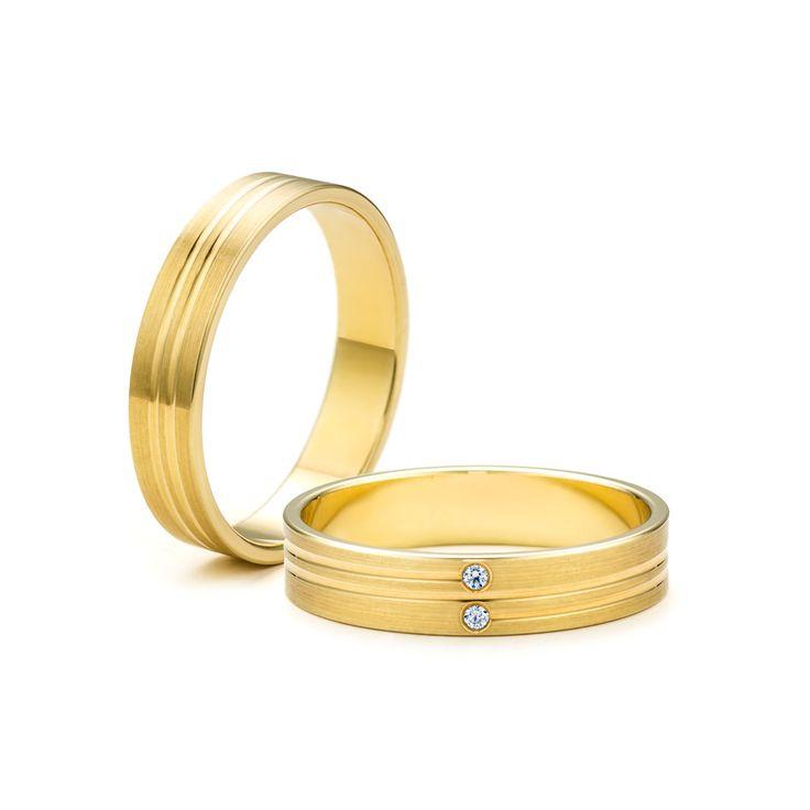 SAVICKI - Obrączki ślubne: Obrączki z żółtego złota (Nr 208) - Biżuteria od 1976 r.