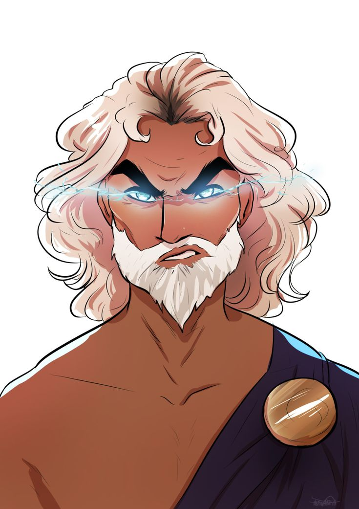 Zeus ( AKA ASSHOLE DAD WHO LEFT HIS CHILDREN AND WIFE TO SUFFER IN PURE ANGUISH AND DOESN'T GIVE A SHIT ABOUT HIS HOMICIDAL PERCY KILLING WIFE HEREAAA!)    Sorry had to let that out of my system.