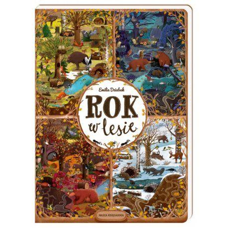 """Piątek, piąteczek, piątunio, Uwielbiamy:)  Czy wiecie jakie zwierzątka mieszkają w lesie? Co robią i jak odpoczywają?  Kto śpi w dzień, a kto w nocy?  Wystarczy przeprowadzić się na cały rok do lasu:)   Alternatywnie, skorzystać z rozrysowanych kadrów lasu w książce """"Książka Rok w lesie"""" - Wydawnictwa Nasza Księgarnia  Wybór należy do was, Miłego Weekendu:)  #rokwlesie #naszaksięgarnia #książka #niczchin #kraków"""