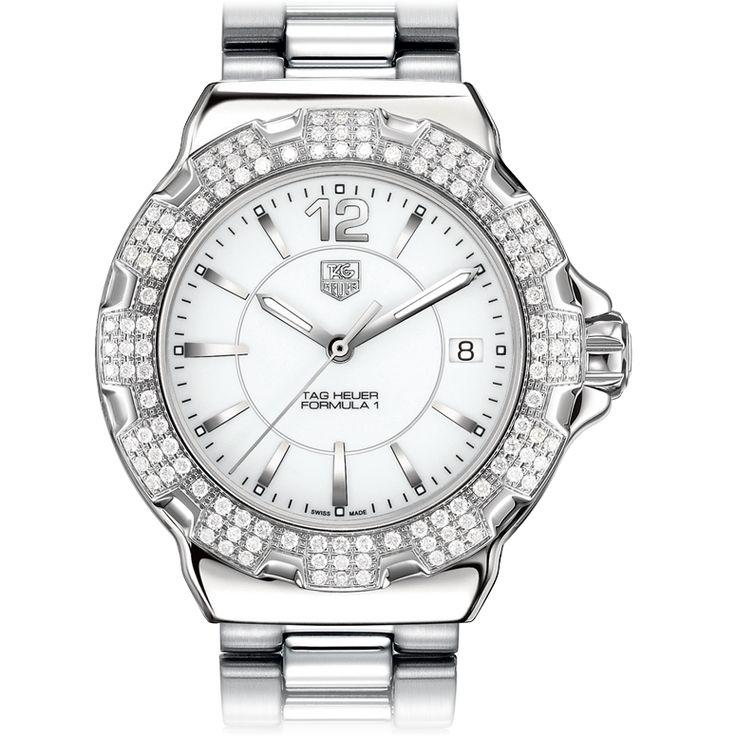 TAG Heuer TAG Heuer FORMULA 1 Full Diamonds37 mm WAH1218.BA0852 #TagHeuer #Formula1 #Ceramic #Diamonds #LadiesBestFriend #WatchConnection #Watches #Professional #Ican #DailyWatch #WatchOfTheDay #Inspiration #classy #wristwatch #RealSmartWatch #PhotoOfTheDay #Love #instagood #me #luxury #success #womenWithStyle #womensFashion #WomensWatch #CostaMesa #OrangeCountyCa #Fashion