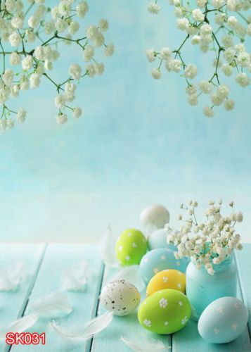 SPRING OUTDOOR EASTER DAY 5x7 FT CP SCENIC PHOTO BACKGROUND BACKDROP MA-SK031 #HUAYI #Scenic   We can design a unique backdrop for you