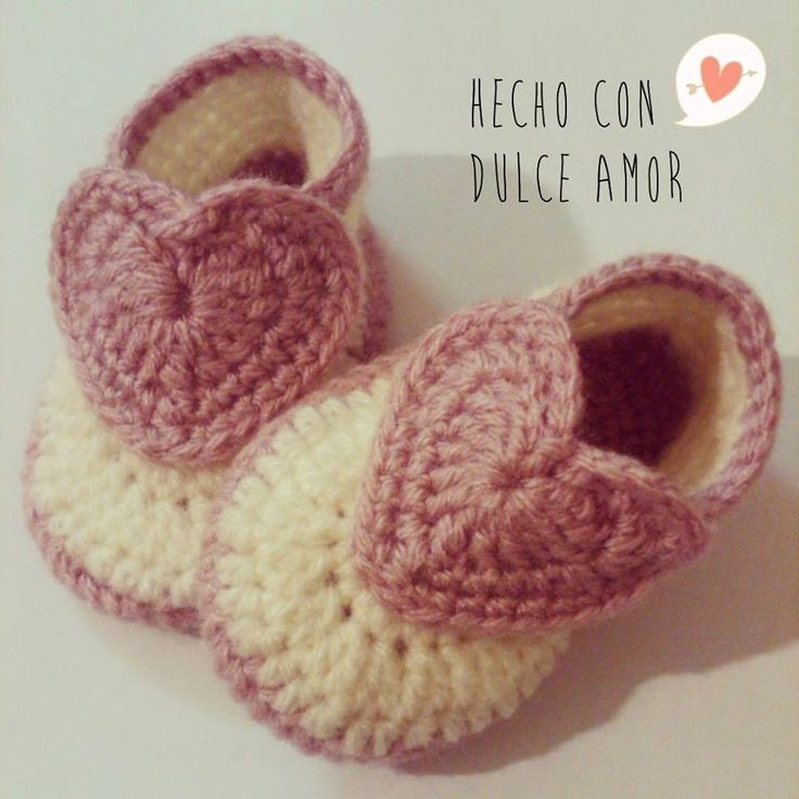 Little Crochet Shoes for babies