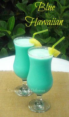 One of the MOST Tropical cocktails around and a must have for lounging around the pool !