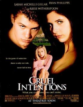 映画  Cruel Intentions  当時サラ・ミシェル・ゲラーが好きでね。最後のBitter Sweet Symphonyの流れるシーンは絶頂。。