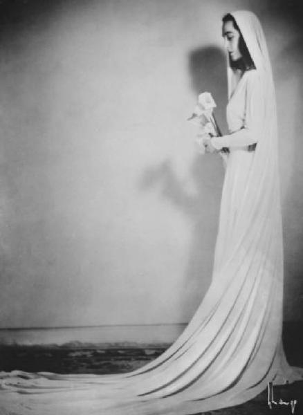 Arturo Ghergo - bride, 1950