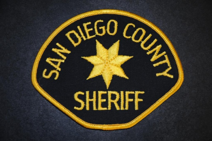 San Diego County Sheriff Patch, California (Current Issue)
