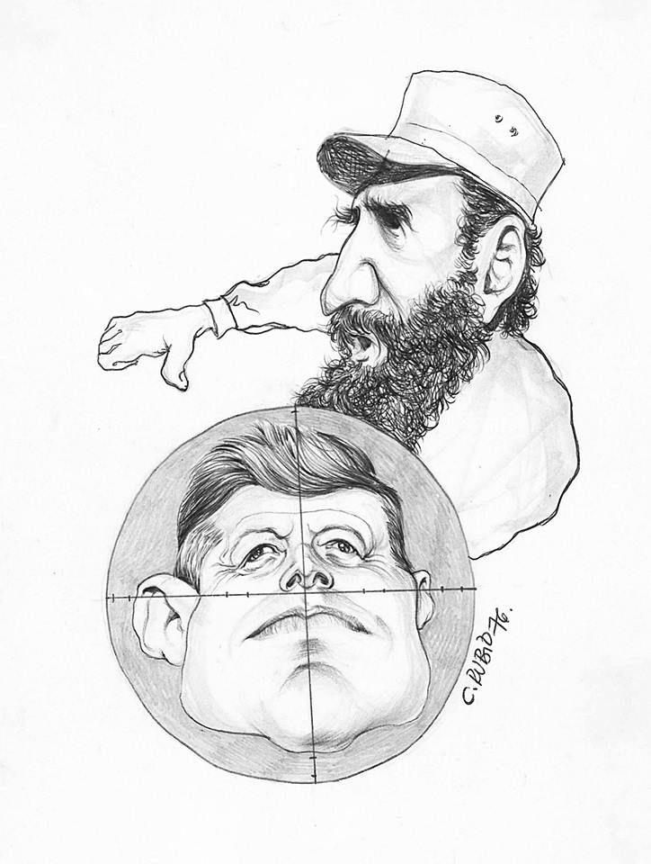 Castro y Kennedy por Carlos Rubio Carvajal (724×960)