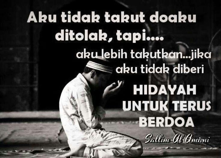 Hidayah Untuk Terus Berdoa