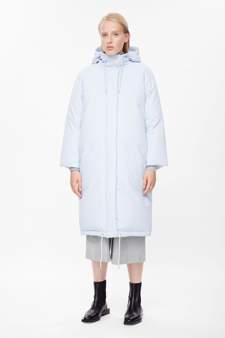 <3 Oversized quilted coat