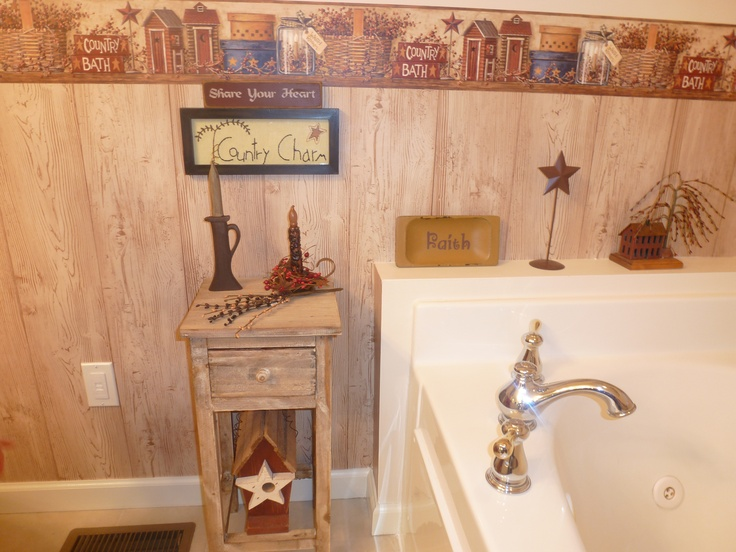 Best 25 Primitive Country Bathrooms Ideas On Pinterest
