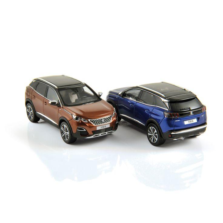 1:43 NOREV Collectors  473880 Peugeot 3008 GT 2016 Metallic Copper  473881 Peugeot 3008 GT 2016 Magnetic Blue  ✔ production samples / exemplaires de production