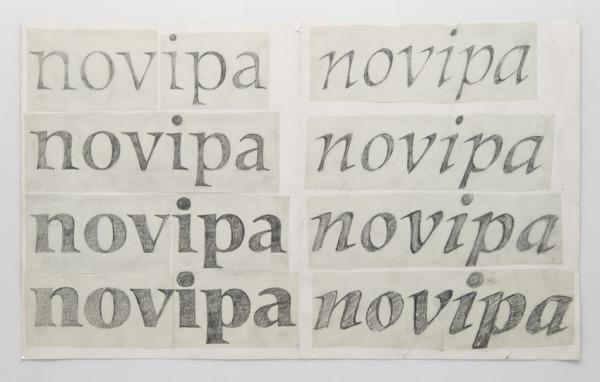 Adrian Frutiger[Vorstudie zur Méridien]-Schrift/Typografie