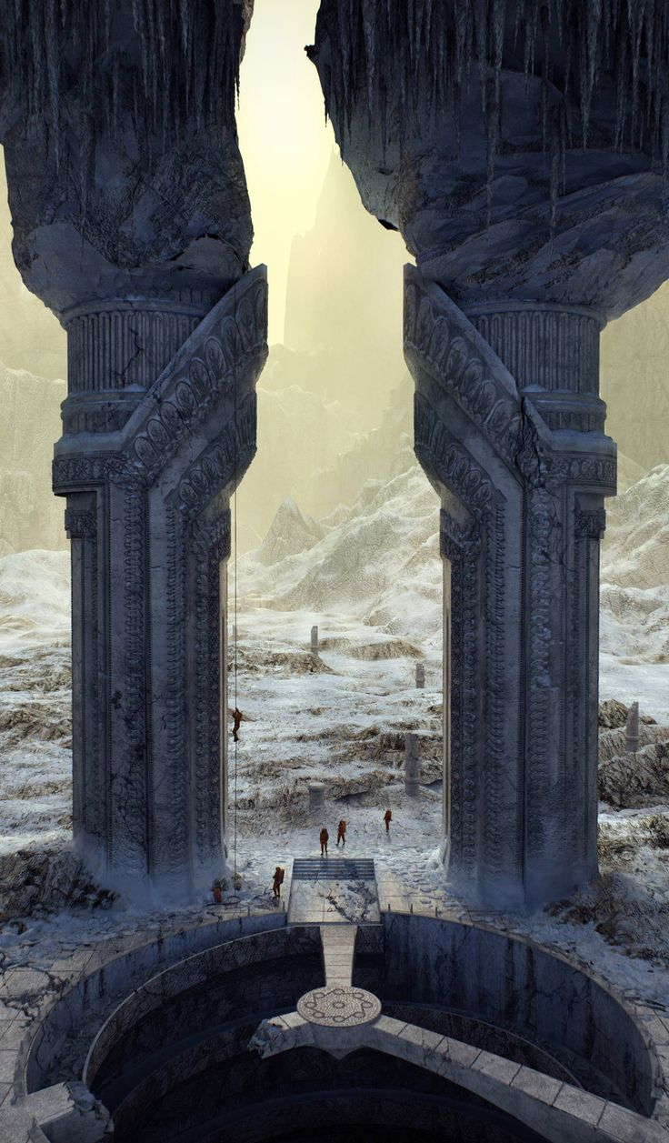 ArtStation - Gate in an empire Aid. Expedition., Alexandr Melentiev