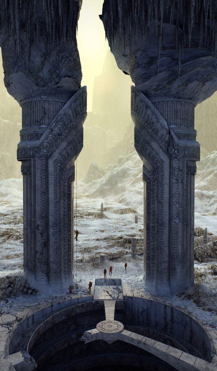 ArtStation - Gate in an empire Aid. Expedition., Alexandr Melentiev