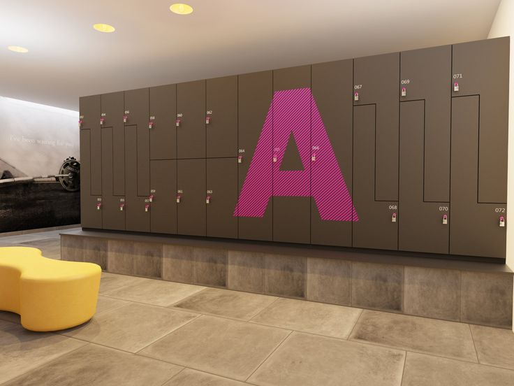 Design gym lockers