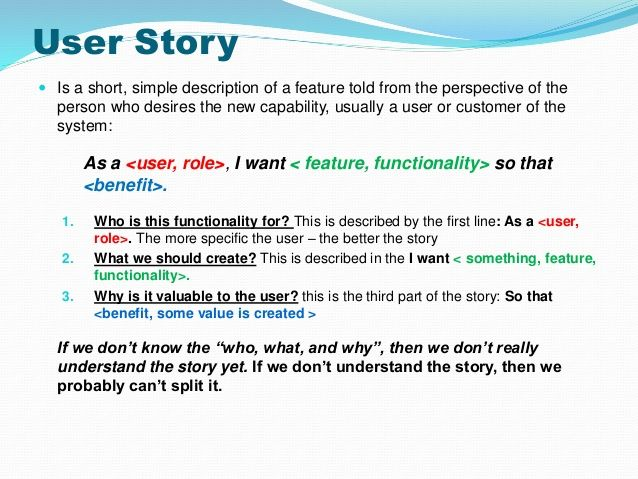 Invest In Good User Stories  Agile    User Story And