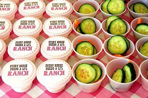 Cute ranch tags for Sheriff Callie Party