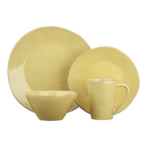 marin yellow dishes