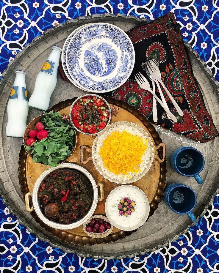 """""""Ghormeh_sabzi"""", Persian herbs stew"""