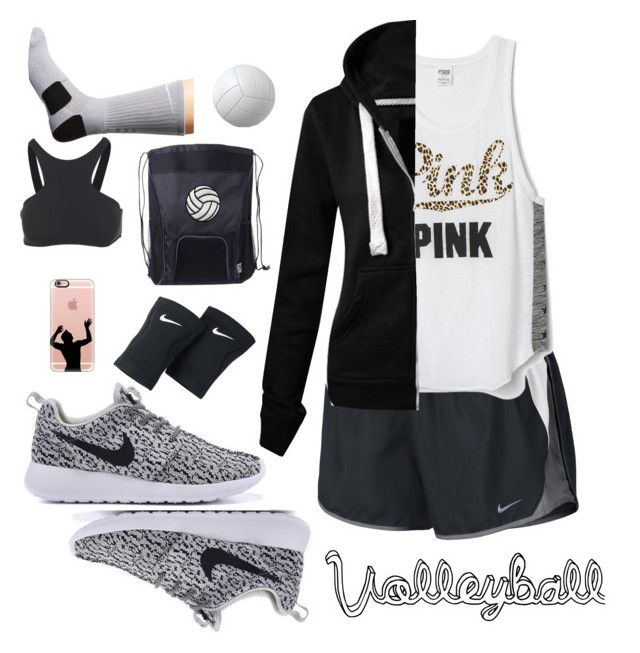 """Volleyball Gear"" by jay-christina on Polyvore featuring NIKE, Victoria's Secret, Casetify and Seafolly"