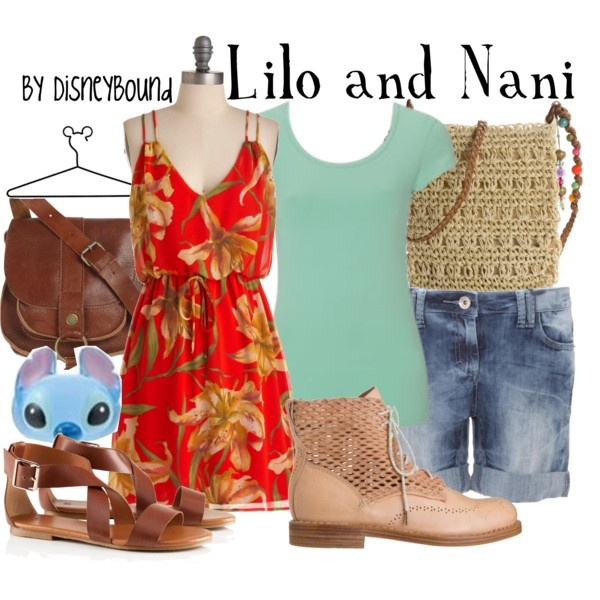 Lilo and Nani, created by lalakay on Polyvore