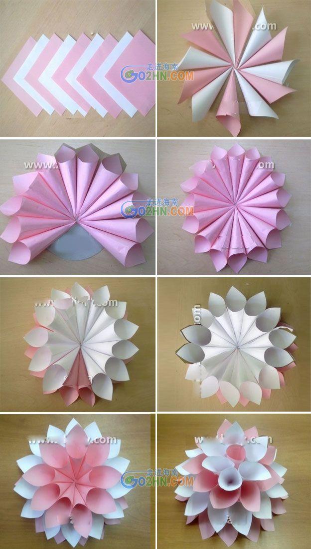 40aabc290314217f45c065499f825442 Paper Art Origami Jpg 624 1099 Manualidades Decoración De Flores De Papel Sobres De Papel