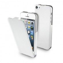 Forro iPhone 5 Muvit - iFlip Blanca con Protector Pantalla  Bs.F. 134,48
