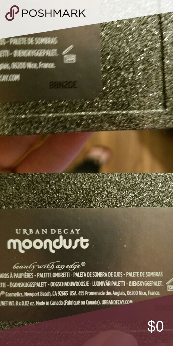MOONDUST serial number Urban Decay Other