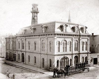 Detroit Fire Station 1880