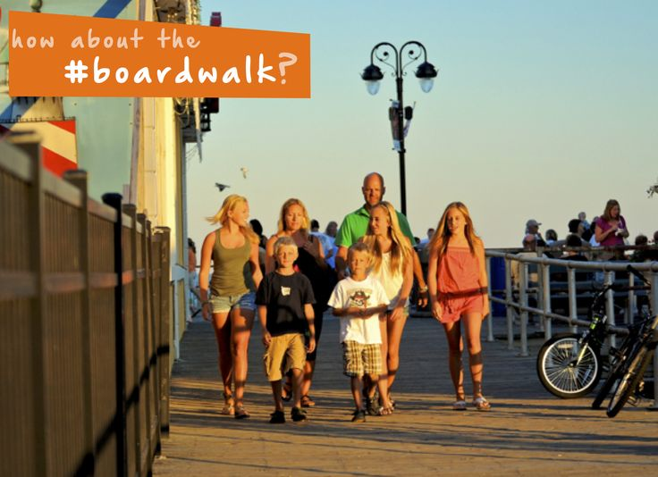 Take a trip up to the #boardwalk for some #summer #familyfun! #thingstodo #beach