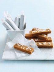 žvýkací karamely solené