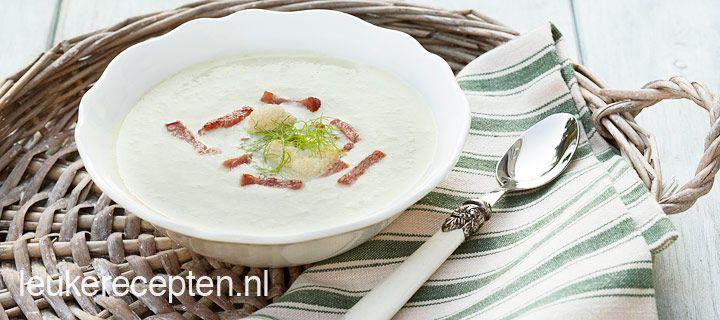 bloemkool venkel soep