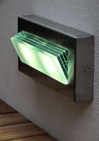 Brik Mount Led Step Light. Lighting For GardensGarden StepsWall ...
