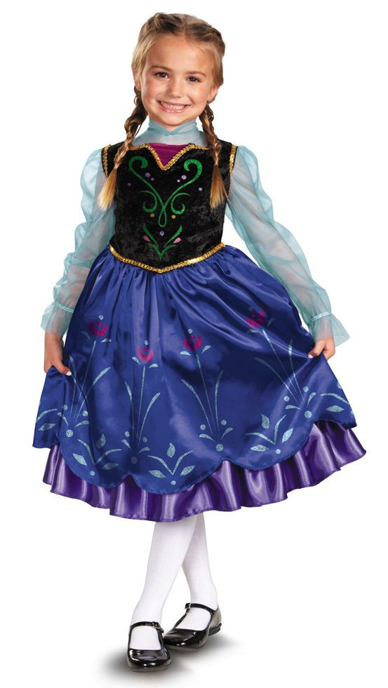 anna deluxe toddler 3t4t halloween costume - 4t Halloween Costumes Girls