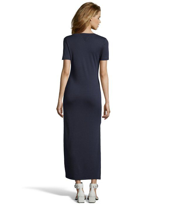 092fc3e992 Theory Shirred Sleeve Maxi Dress