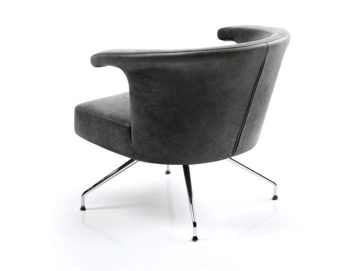 Armchair With 4 Spoke Base TOKUu0027 By ESTEL GROUP Design Jorge Pensi
